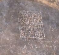paggese,graffiti,storia,memoria,misteri,quadrato magico,peste