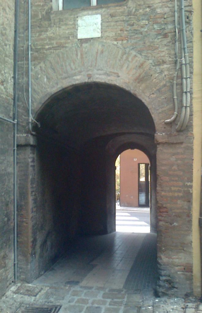 il porticello da dentro le mura