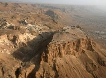 La rupe di Masada